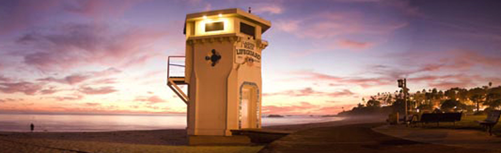 Orange County - Laguna Beach Life Guard Tower